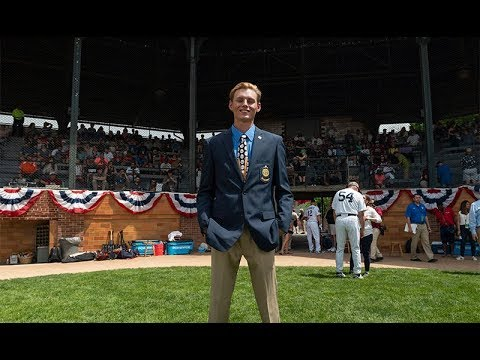 American Legion Baseball Player of the Year honored at Cooperstown