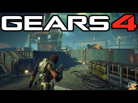 Gears of War 4 - New Harbor Haze Multiplayer Map Gameplay!