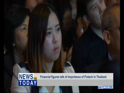 Financial figures talk of importance of Fintech in Thailand