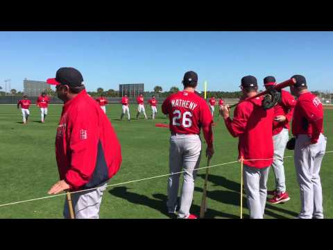 Sights and Sounds Cardinals Spring Training Feb 20 2015