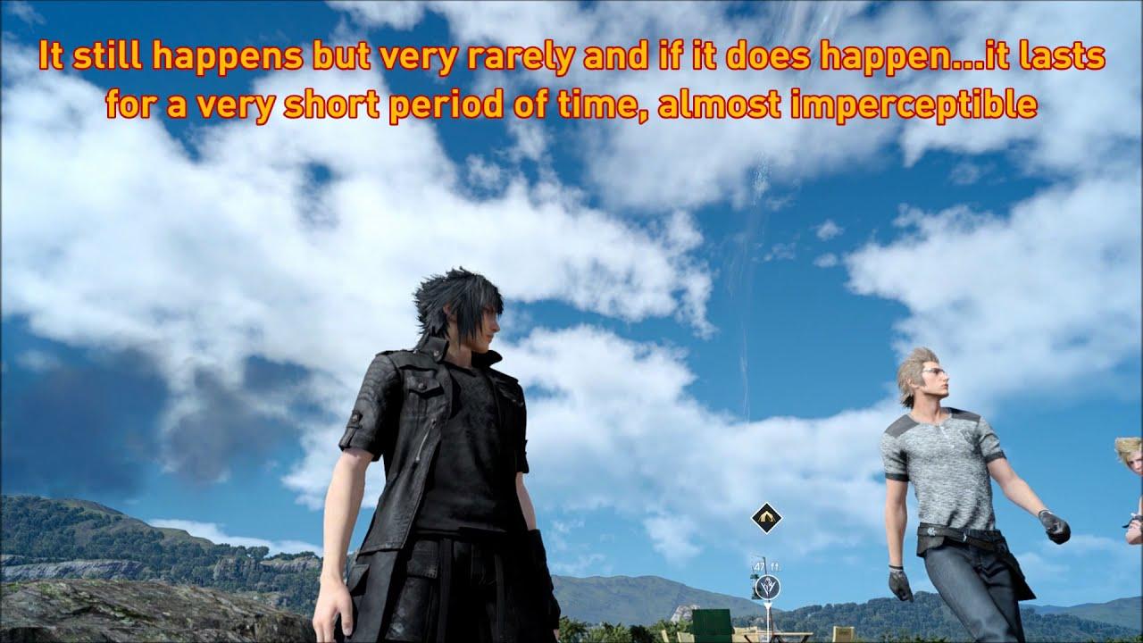 Final Fantasy Xv Pc - Physics Flickering / Twitching Glitch - Partial Fix  (Borderless Fullscreen)  Sholva 07:08 HD