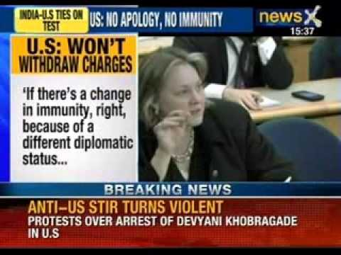 NewsX: Devyani stip search case - Outlets of McDonalds & Dominos targeted in Mumbai by RIP workers