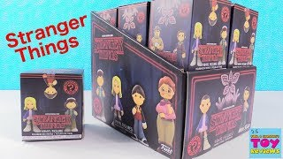 Stranger Things Funko Mystery Minis Full Box Blind Box Opening | PSToyReviews