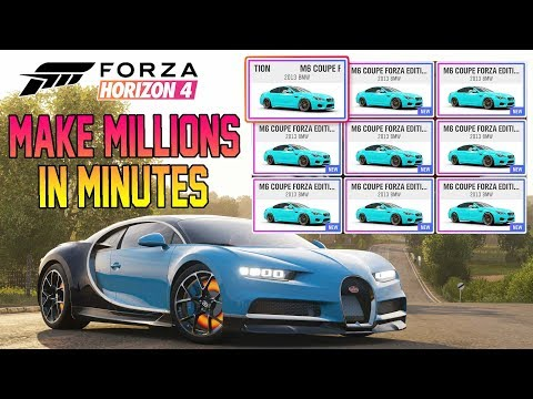 Forza Horizon 4 - Make MILLIONS Using Auction House! 10M Per Hour BEST Method Ever