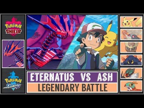 Legandary Battle: ETERNATUS Vs ASH (Pokémon Shield/Sword)