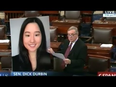 """We Need To Ask Why In The World ANYONE Needs To Own An Assault Weapon!"" Senator Durbin"