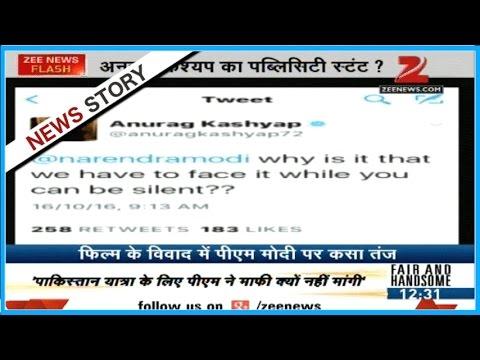 "Filmmaker Anurag Kashyap tweets for supporting Karan Johar on his film ""Ae Dil Hai Mushkil"""