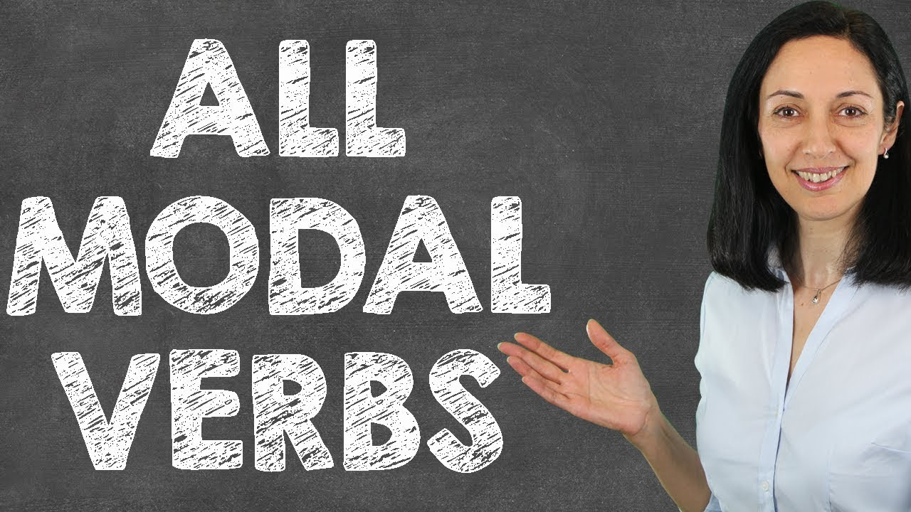 Modal Verbs English Grammar Conversation Lesson All Modals Youtube