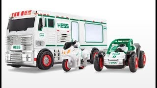 The New 2018 Hess Toy Truck with Motorcycle / ATV