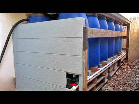 DIY Backyard Rainwater Harvesting Using Repurposed Food Grad