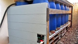 DIY Backyard Rainwater Harvesting Using Repurposed Food Grade Barrels