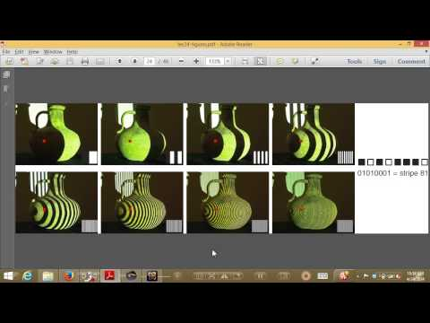 CVFX Lecture 24: Structured light scanning