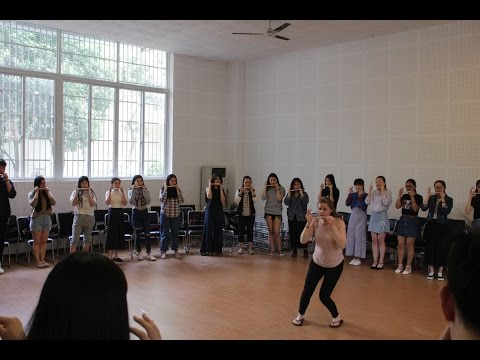 Beatbox Flute Workshops - Chengdu 2017 - Karen Brubaker