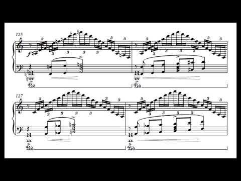 Theodore Servin - Ballade In F-sharp Minor (audio + Sheet Music)