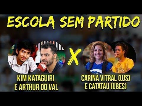 "Debate ""Escola Sem Partido"": MBL contra UNE, UEE e UPES #ProgramaDiferente"