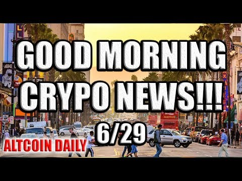 Daily Bitcoin & Cryptocurrency News! 6/29 [Updates on Tron, Cardano, Nuls, & UnikrnGold!]