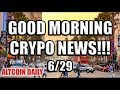 Daily Bitcoin & Cryptocurrency News! [Updates on Tron, Cardano, Nuls, & UnikrnGold!]