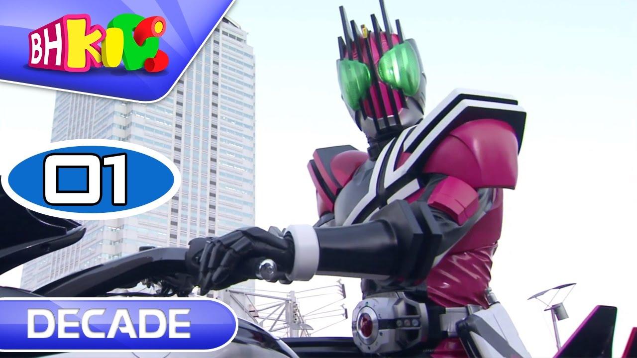 Hiệp Sĩ Mặt Nạ Decade – Tập 1 : Chiến Tranh Rider (Siêu Nhân Thập Kỷ)