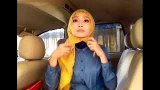 Easy hijab tutorial #20 (nutupin dada n nutupin pipi tembem)