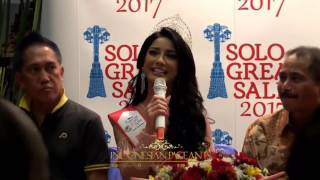 Press Conference Kepulangan Dikna Faradiba Miss South East Asia Tourism Ambassadres 2016/2017