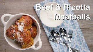 Basic Beef Meatball Recipe - Le Gourmet TV 4K