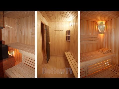 Современная баня с сауной из деревенской. Как это сделать бюджетно