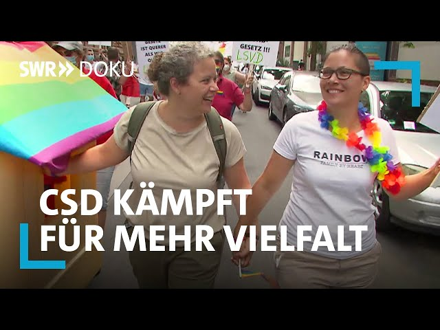Schwul, lesbisch, trans - CSD kämpft für mehr Vielfalt   SWR Doku