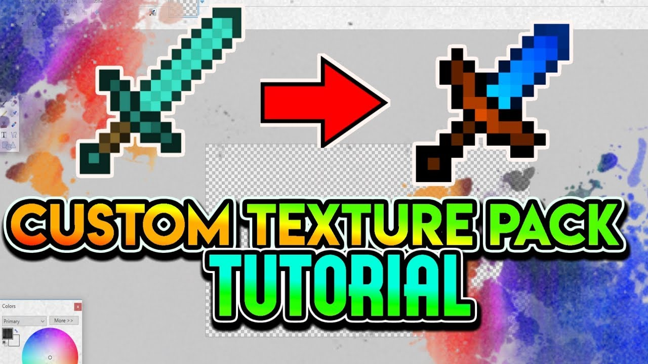 Minecraft Custom Texture Pack Tutorial Fps Texture Pack Guide 2018 All Versions Youtube