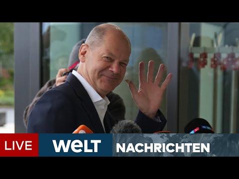 SPD, DIE GRÜNEN UND FDP: Es wird ernst - Ampel geht in vertiefte Sondierungen | WELT Newsstream