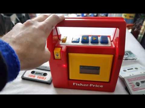 Fisher Price Tape Deck 1980s Children's Cassette Player; Inspection | Nostalgia Nerd