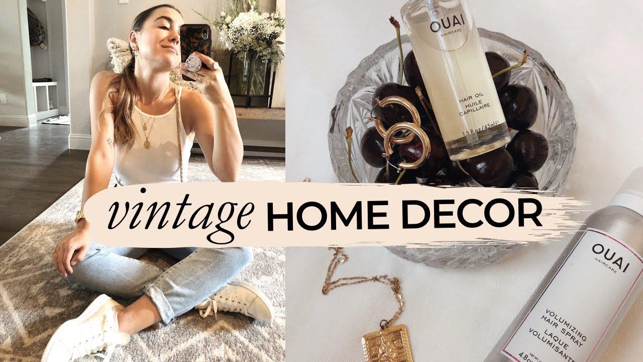 Vintage Home Decor Haul Julia Havens Youtube