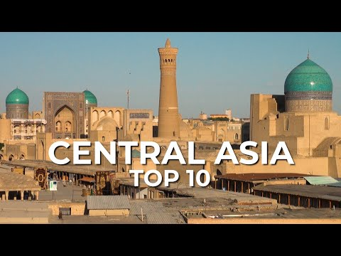 Top 10 Places to Visit in Central Asia and the Caucasus - Silk Road Travel Video (Documentary)