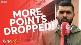 FRUSTRATING UNITED! Southampton 1-1 Man United Review
