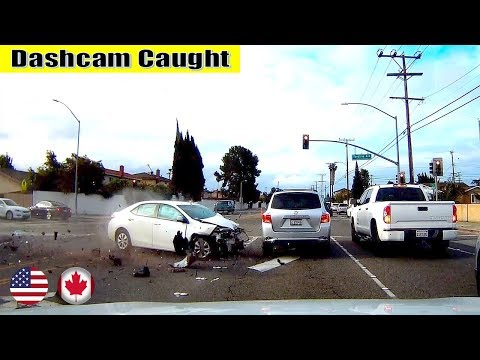 Ultimate North American Cars Driving Fails Compilation - 260 [Dash Cam Caught Video]