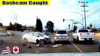 Ultimate North American Cars Driving Fails Compilation - 99 [Dash Cam Caught Video]