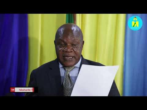 UZINDUZI WA OFISI YA UHUSIANO YA MAMLAKA YA BANDARI TANZANIA (TPA) ULIOFANYIKA TAREHE 23 OKTOBA 2020 MJINI BUJUMBURA