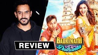 Shashank Khaitan's Review Of Badrinath Ki Dulhania