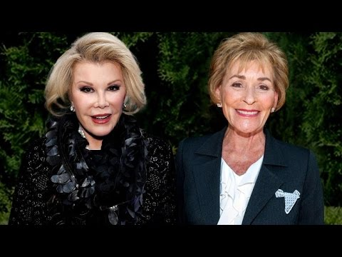 EXCLUSIVE: Judge Judy Remembers Her Friend Joan Rivers