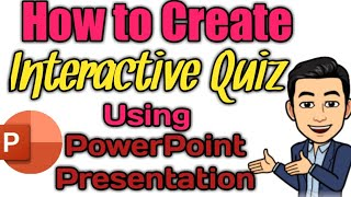 HOW TO CREATE INTERACTIVE QUIZ USING POWERPOINT PRESENTATION Part 1 #RIZALDYligjtfulLessons #PPT