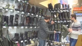 видео Выбор рыболовных ботинок. Gore-Tex, или Waterproof?