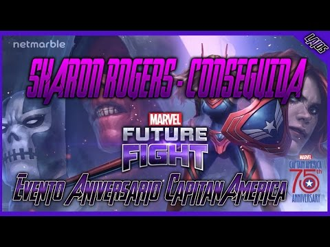 Evento 75° Aniversario Capitan America Completo - Sharon Rogers || Marvel: Future Fight