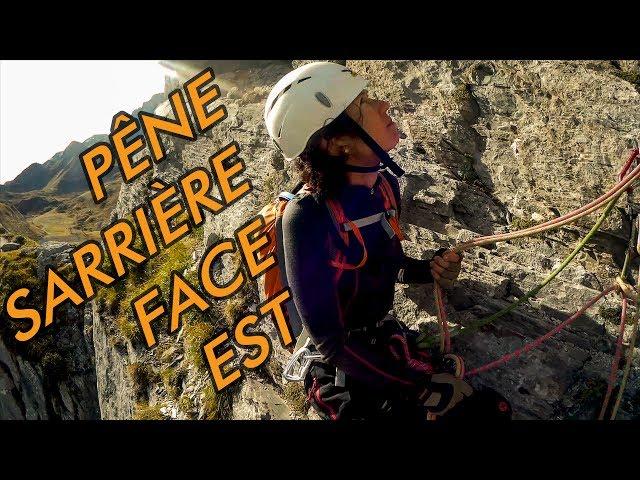 Club Alpin de Pau - Pêne Sarrière Face Est - taillante