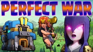 TH12 FALCON PERFECT WAR | New META Attacks | Clash of Clans