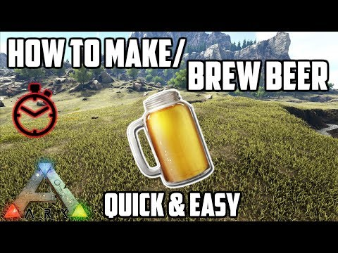 How to make a beer jar in ark