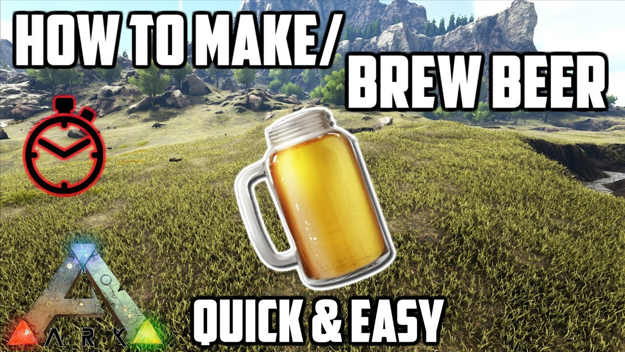 Beer Liquid - ARK: Survival Evolved Wiki Guide - IGN