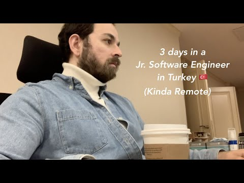 Three Days of a Jr. Software Engineer in Istanbul, Turkey 🇹🇷 (Corona Edition)