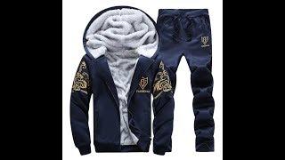Мужской спортивный костюм на меху\Распаковка посылки с алиэкспресс\Alishka
