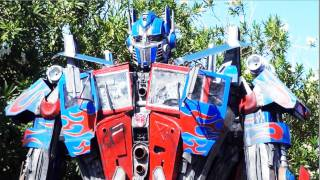 Real Life Optimus Prime Transformer