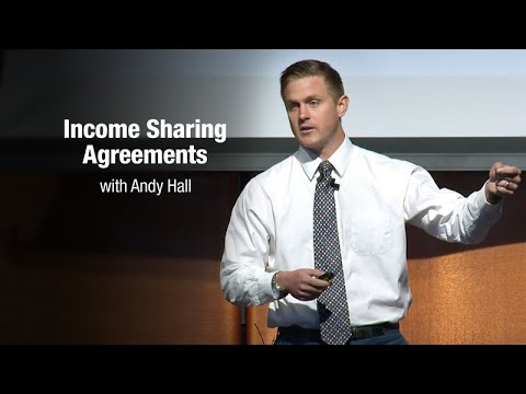 Income Sharing Agreements with Andy Hall