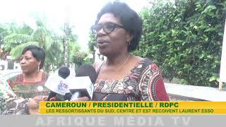 RDPC RESSORTISSANT DU SUD RECOIVENT LAURENT ESSO INTERIEW 1